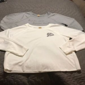 True craft tops. Both size large. Never worn